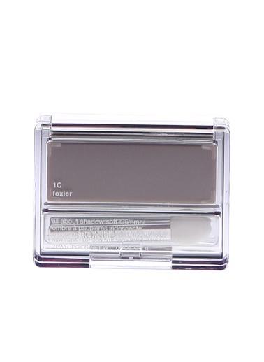 Clinique Clinique All About Shadow Yoğun Pigmentli Si Foxier Soft Shimmer Kompakt Tekli Göz Farı 2.2 Gr Renksiz